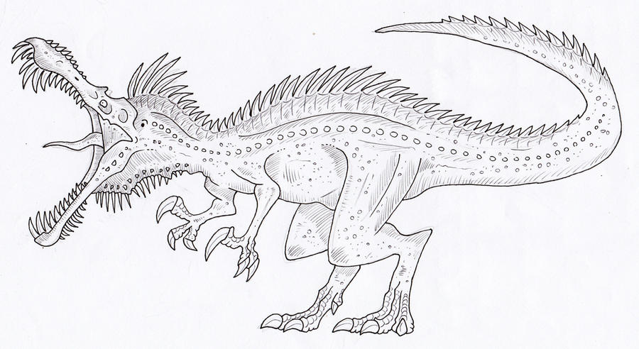 Suchomimus coloring page coloring pages for Baryonyx coloring pages