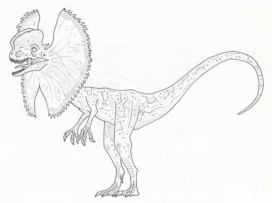 velociraptor jurassic park coloring pages - photo#23