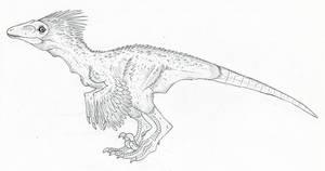 Dromaeosaurid by SommoDracorex