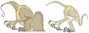 Lumping Anteater (Deinocheirus? LOL)