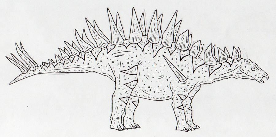 Tuojiangosaurus by SommoDracorex
