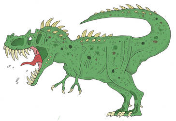 Funny Tyrannosaurus by SommoDracorex
