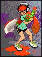 Splatoon - Inkling by AnimusDesign