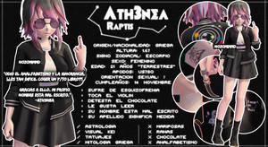 Nuevo OC-Ath3nea Raptis