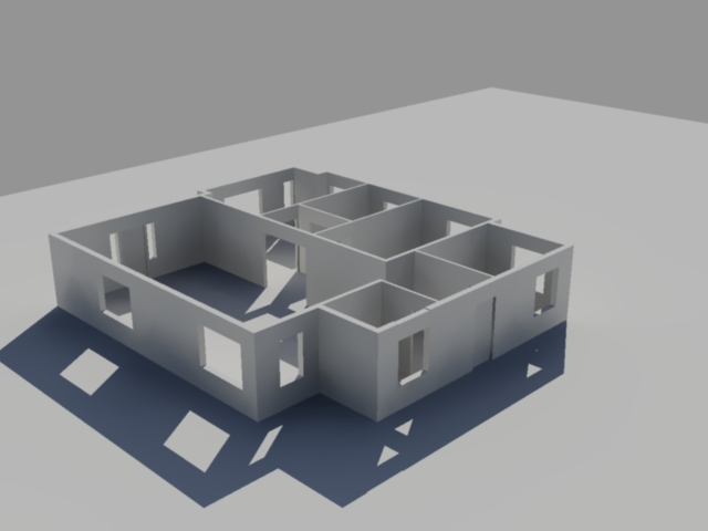 3d house in autocad by undeaddesign on deviantart for Cad house