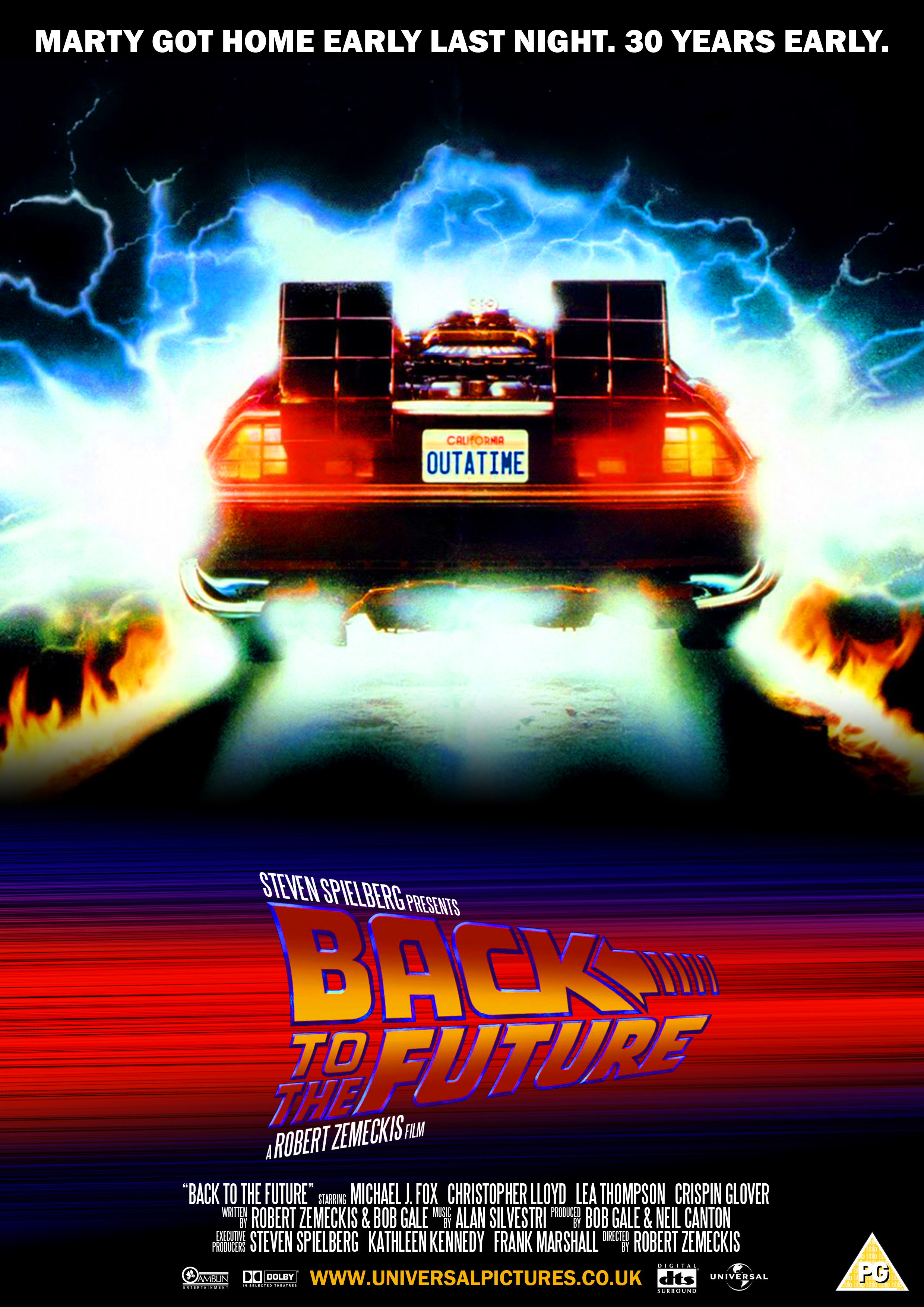 Back To The Future - 1985 by CrustyDog on DeviantArt