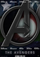The Avengers - 2012 Film Poster by CrustyDog