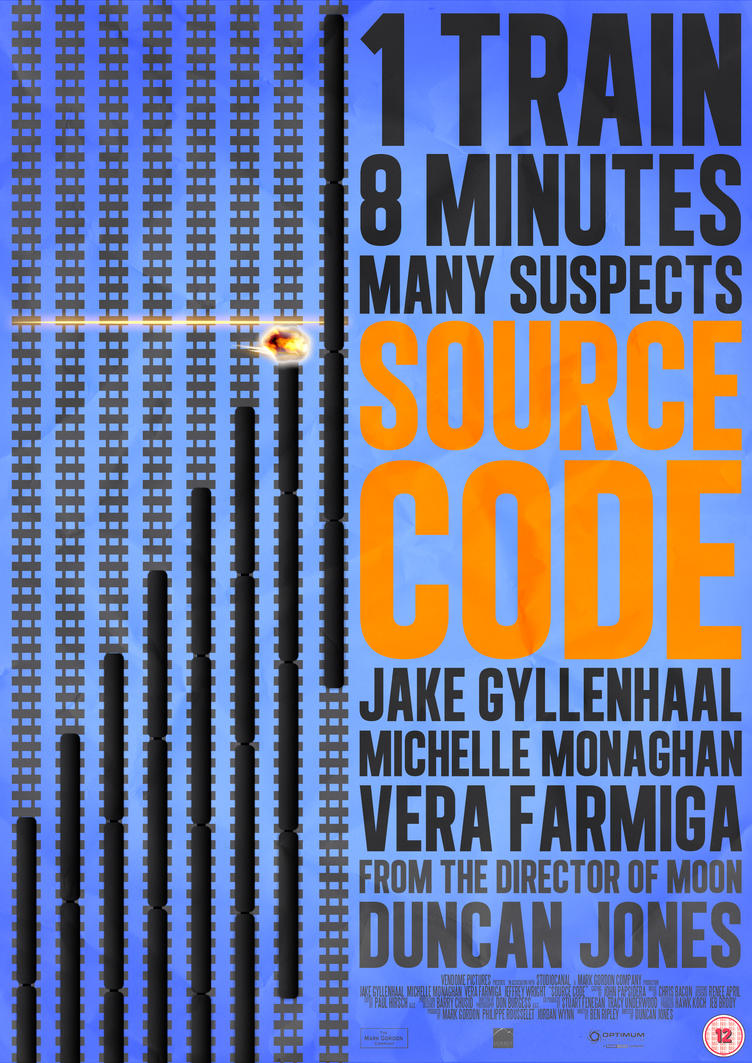 Source Code - 2011 Film Poster by CrustyDog