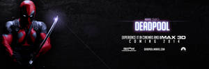 Deadpool - 2014 Teaser Movie Banner