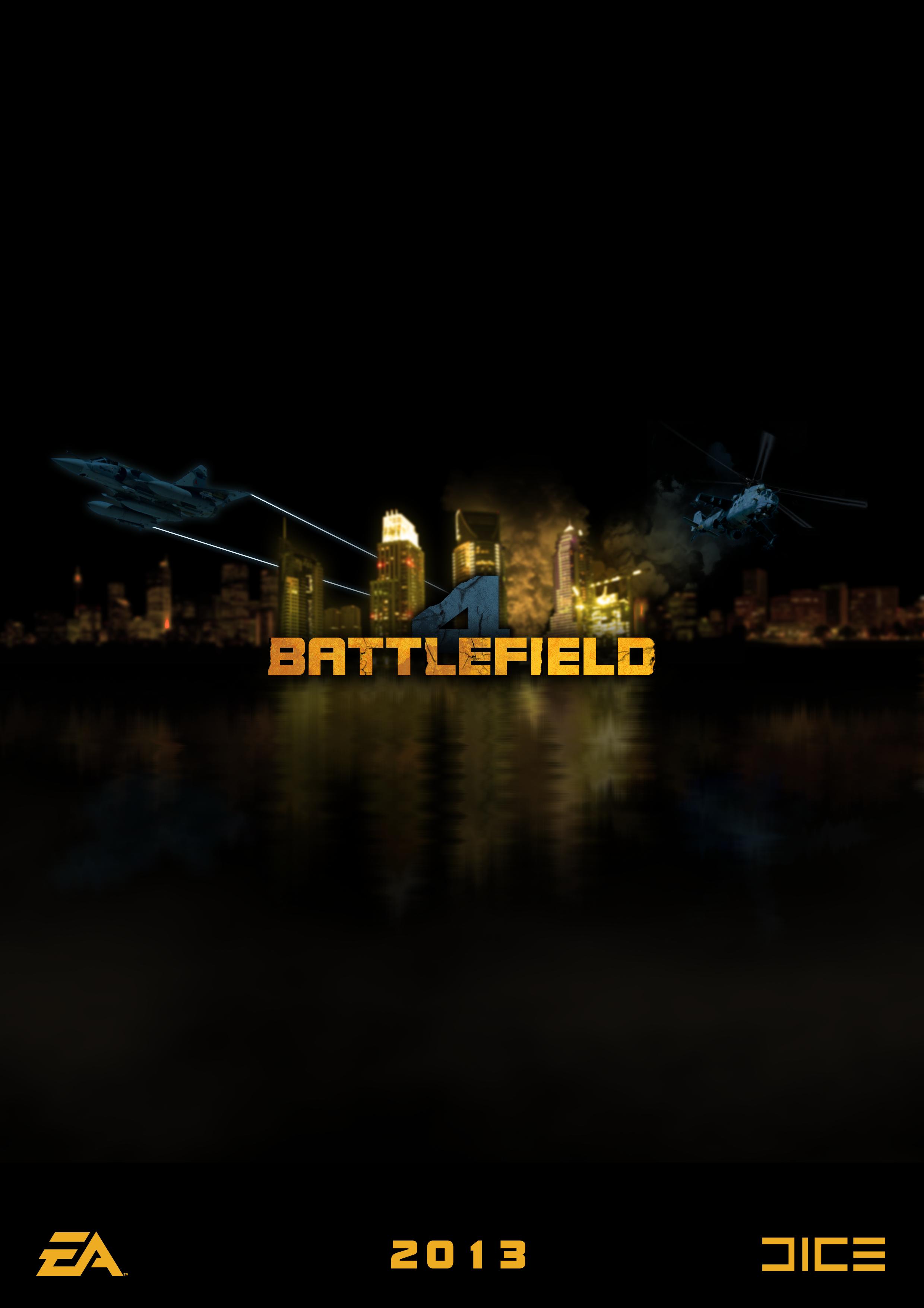 Battlefield 4 Teaser Poster by CrustyDog