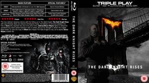 The Dark Knight Rises Blu-Ray Cover by CrustyDog