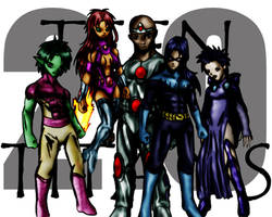 Teen Titans 2.0 by bleedingmoon114