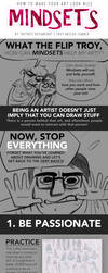 HOW TO MAKE YOUR ART LOOK NICE: Mindsets by trisketched