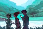 Pokemon Going Outside