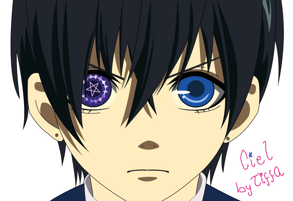 ciel phantomhive eye - photo #13