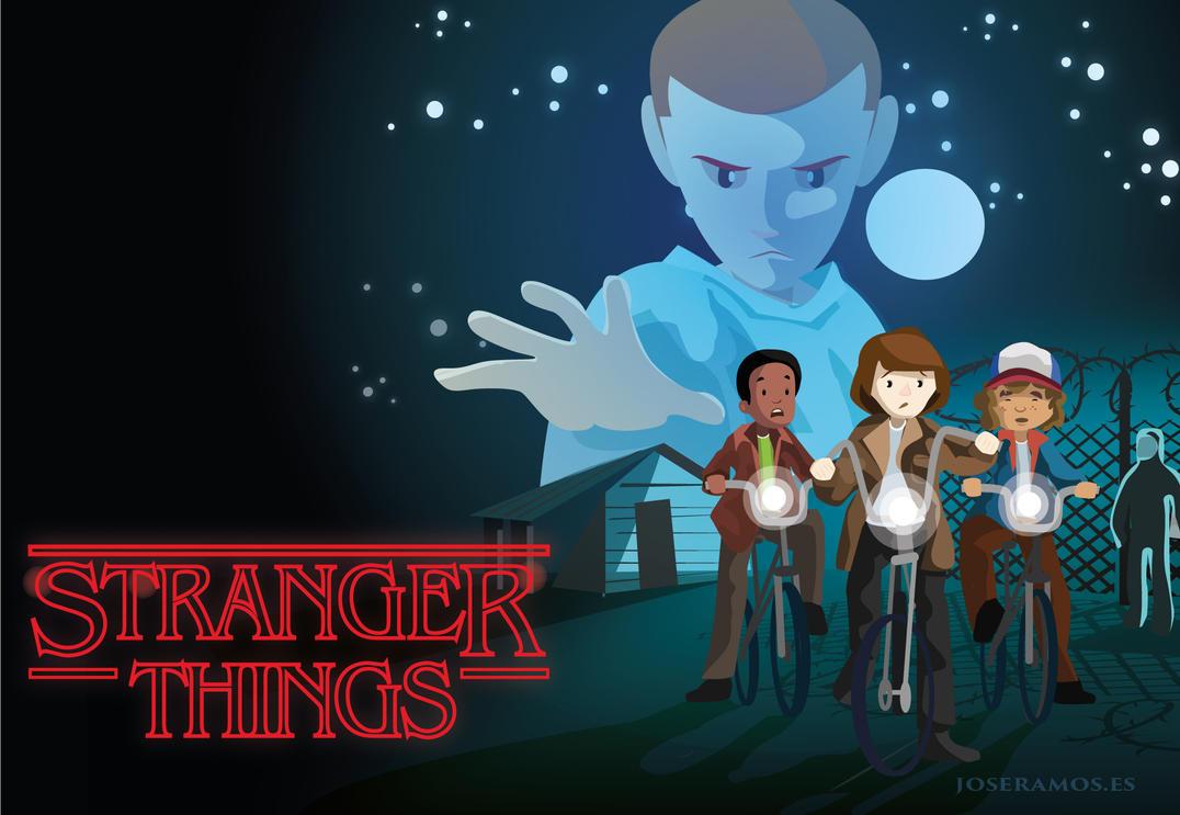 Stranger things by jjdarias