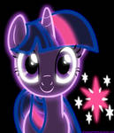 Neon Twilight Sparkle