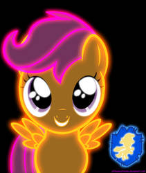 Neon Scootaloo