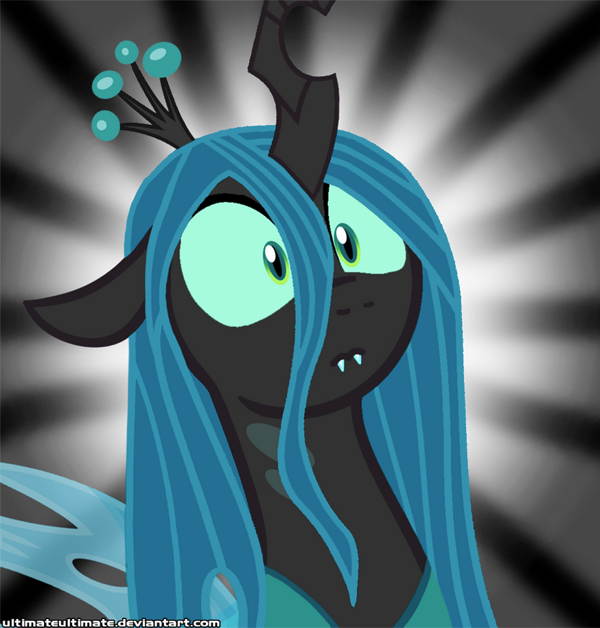 Surprise Queen Chrysalis by ZantyARZ
