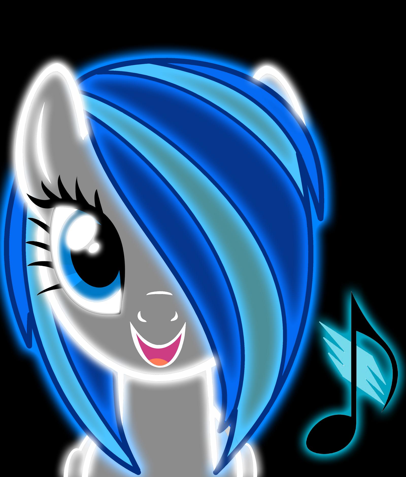 Request DJgirl939 Neon pony by ZantyARZNeon Lights Wallpaper Mlp