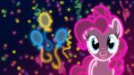 Neon Pinkie Pie Wallpaper