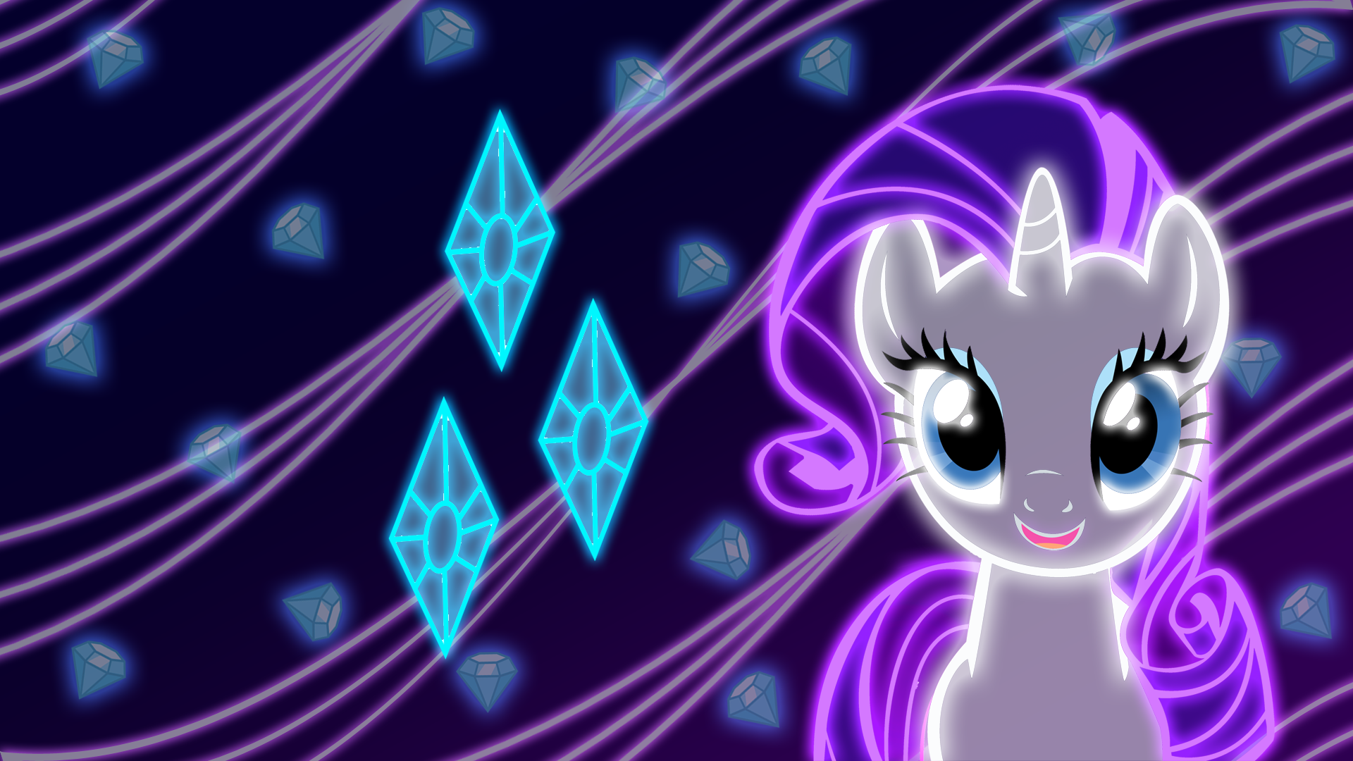 Neon Rarity Wallpaper by ZantyARZ