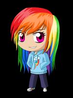 MLP Chibi: Rainbow Dash by ZantyARZ