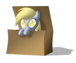 Derpy in the box
