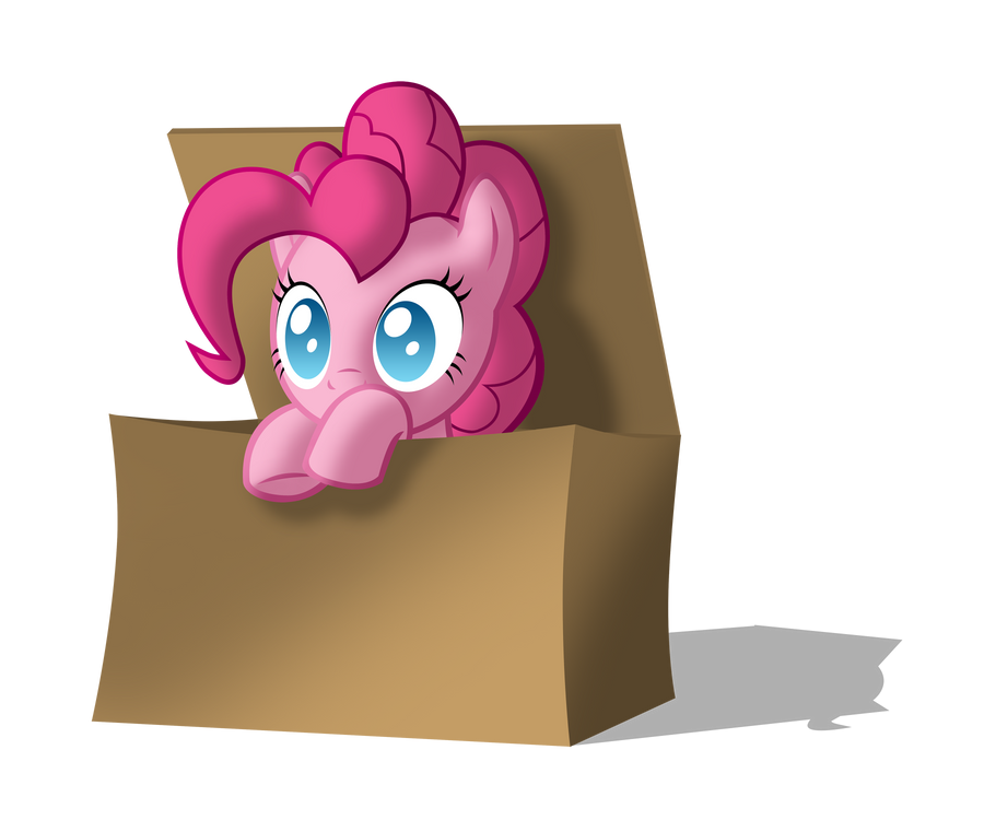 Pinkie in the box by ZantyARZ