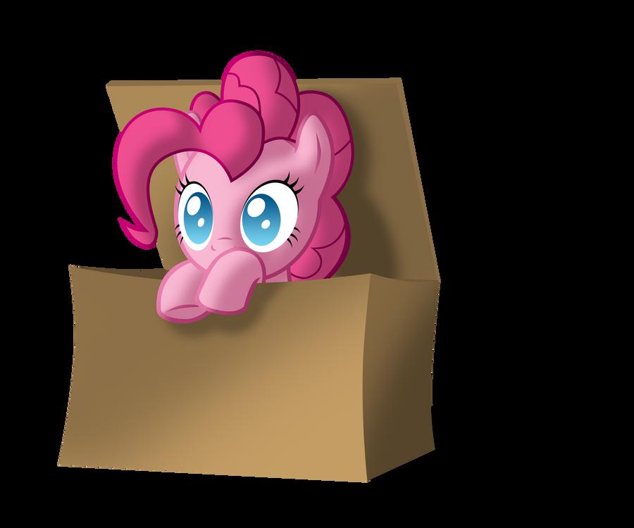 Pinkie in the box by ZantyARZ