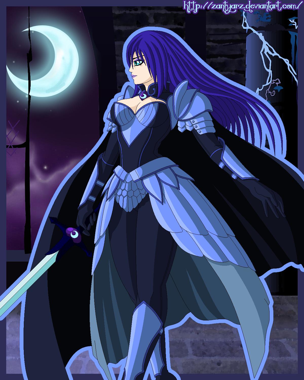 Nightmare Moon (Human) by Trinityinyang on DeviantArt