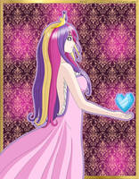 Princess Cadance Human by ZantyARZ