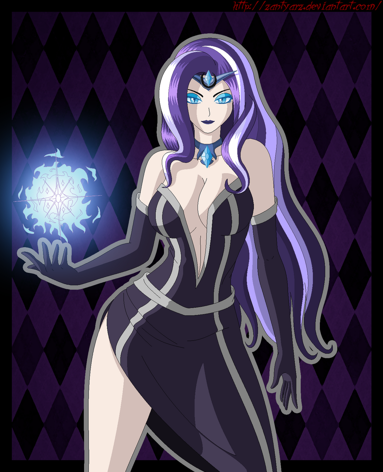 Nightmare Rarity by ZantyARZ