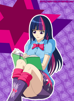 Twilight Sparkle Equestria Girls by ZantyARZ