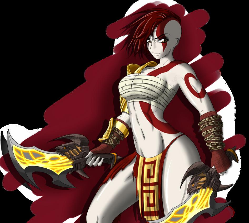 Goddess of war by ZantyARZ