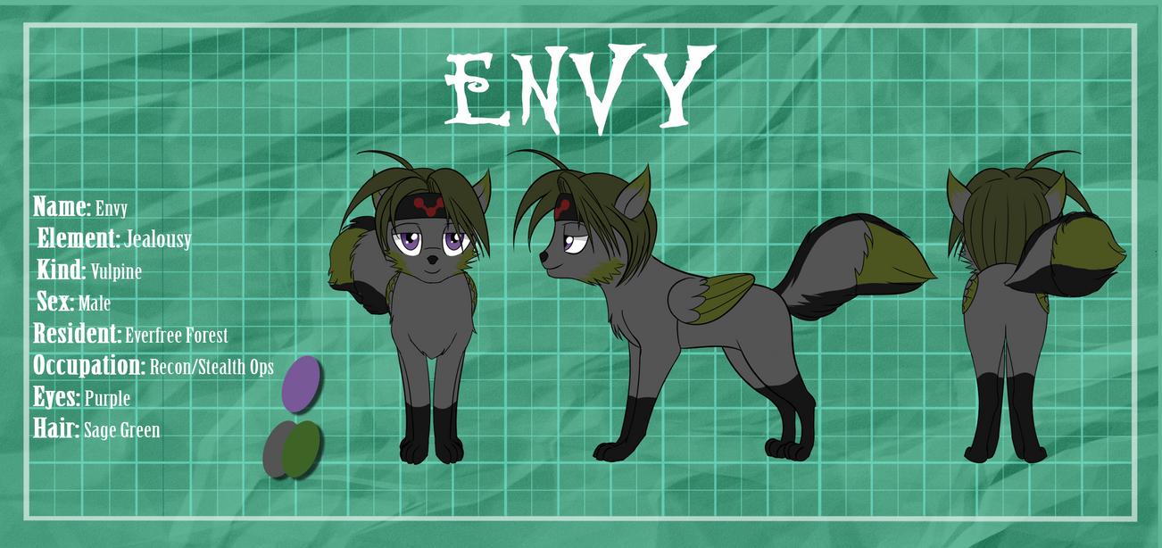 Commission Profile: Envy by ZantyARZ