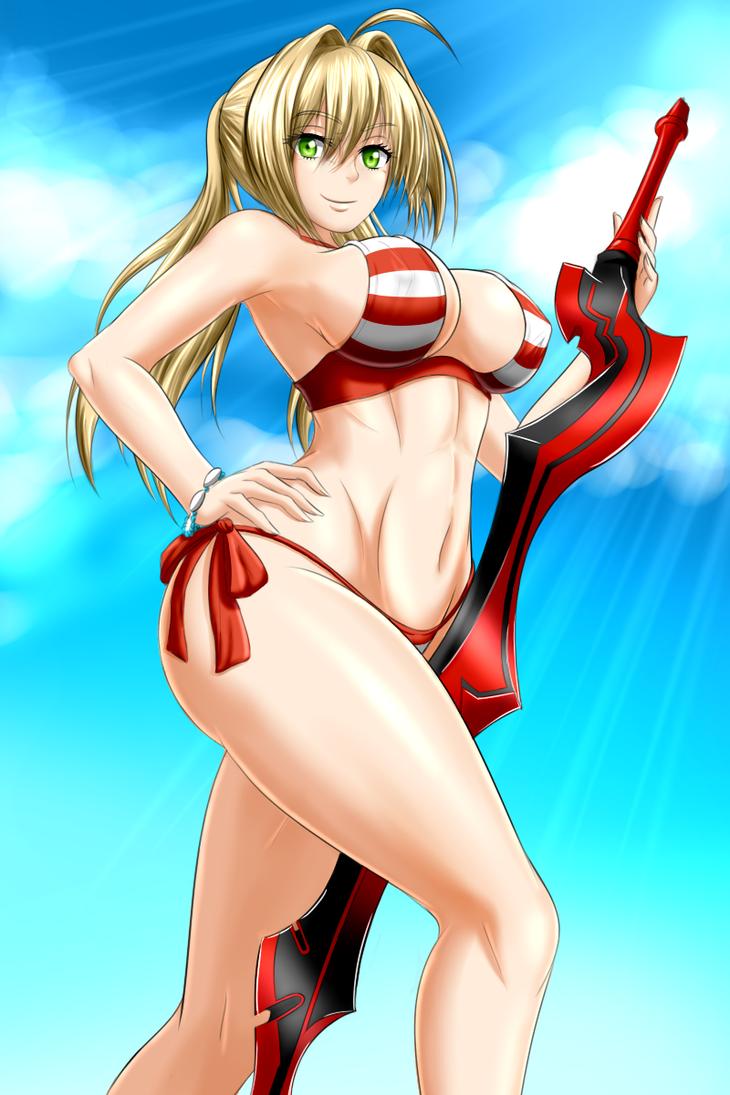 Nero Caster by ZantyARZ