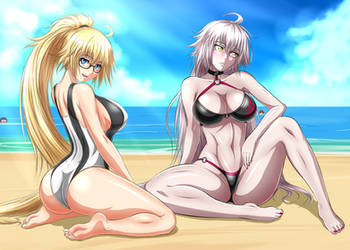 Jeanne and Jeanne by ZantyARZ