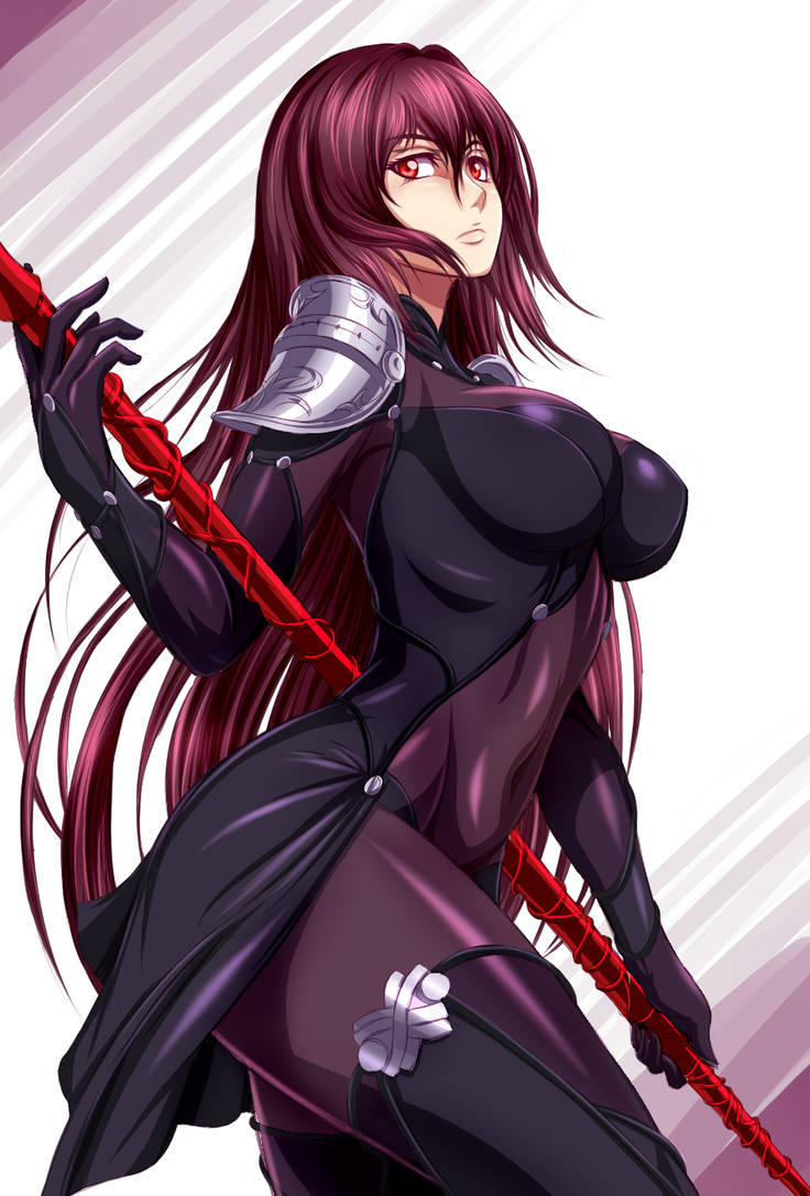 Scathach Fate/Grand Order by ZantyARZ