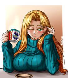 Hot chocolate with Quetzalcoatl