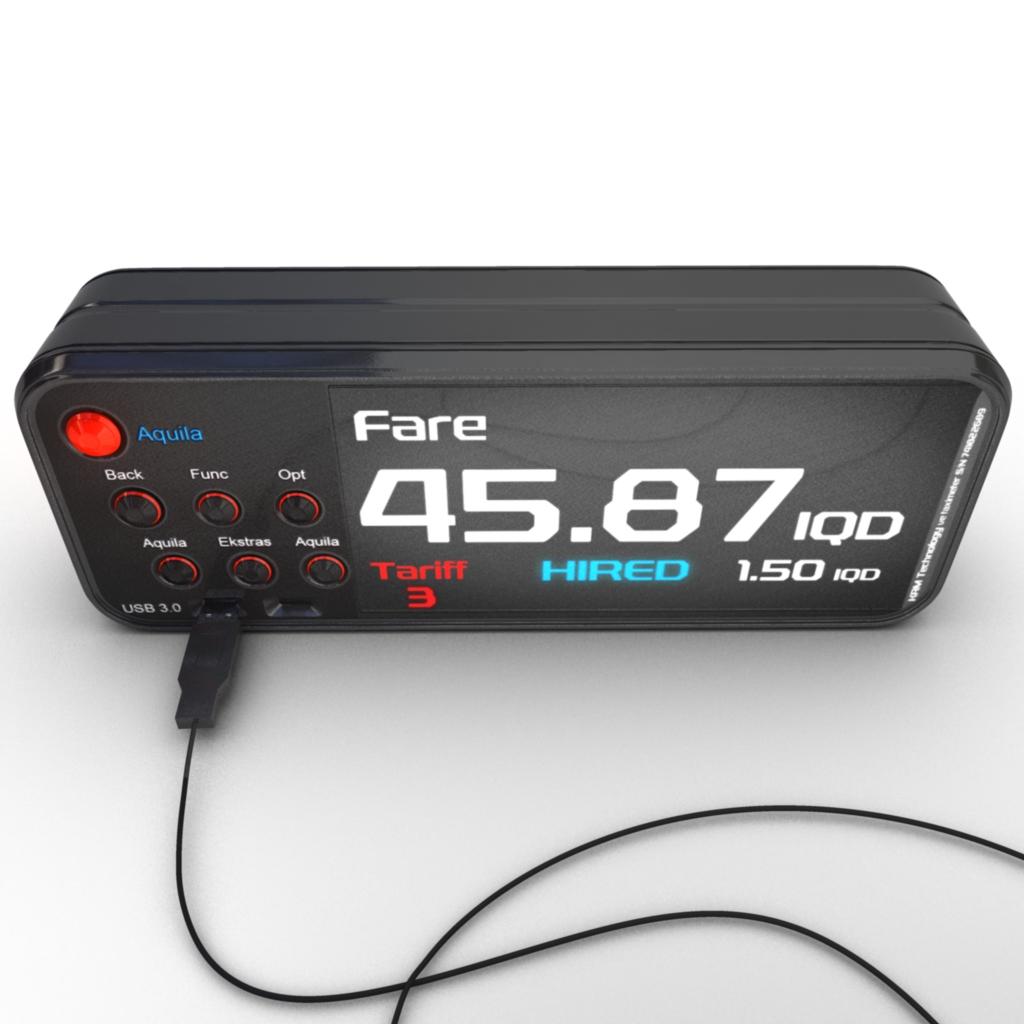 Cuánto cuesta una traducción jurada - Futuristic taximeter by istanblue78 on deviantart