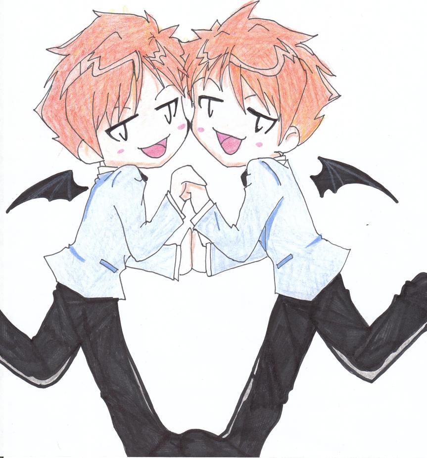 Hikaru And Kaoru Hitachiin Chibi