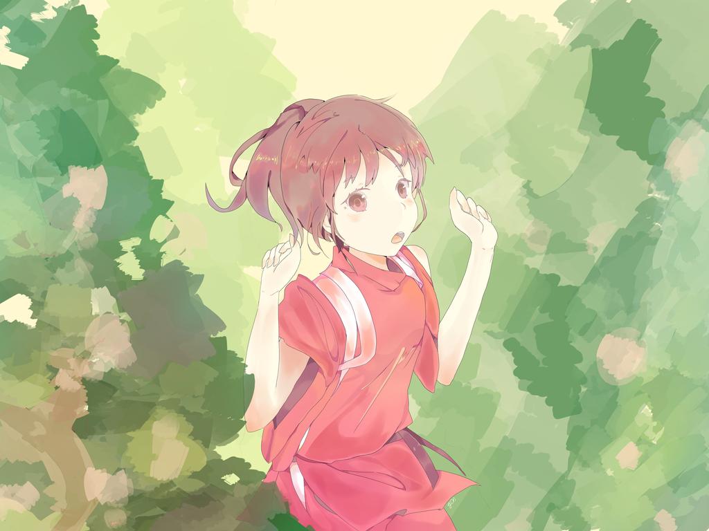 spirited away - chihiro by romuram