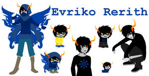 Evriko Rerith ~ Homestuck OC by BadLuckKat