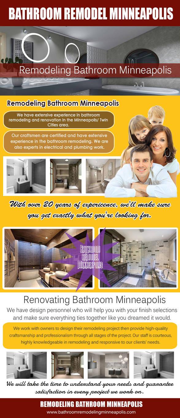 Bathroom remodel Minneapolis by bathroomremodel