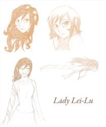 OC - Lady Lei Lu by felflowne