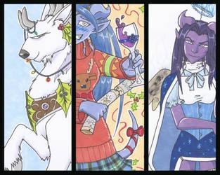 Christmas Cards - 2013 by felflowne