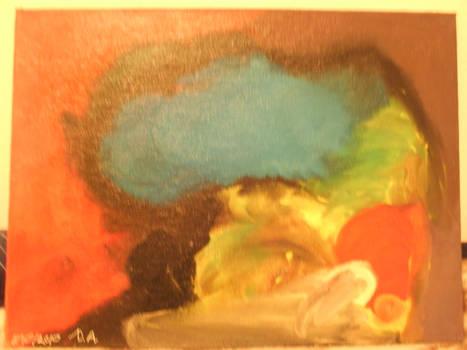Oil paint blah