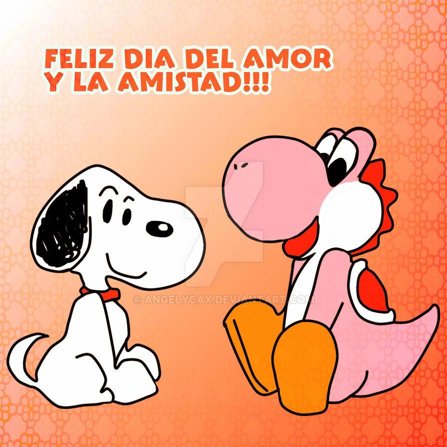 Dia de la amistad! Andy x Carlos by angelycax