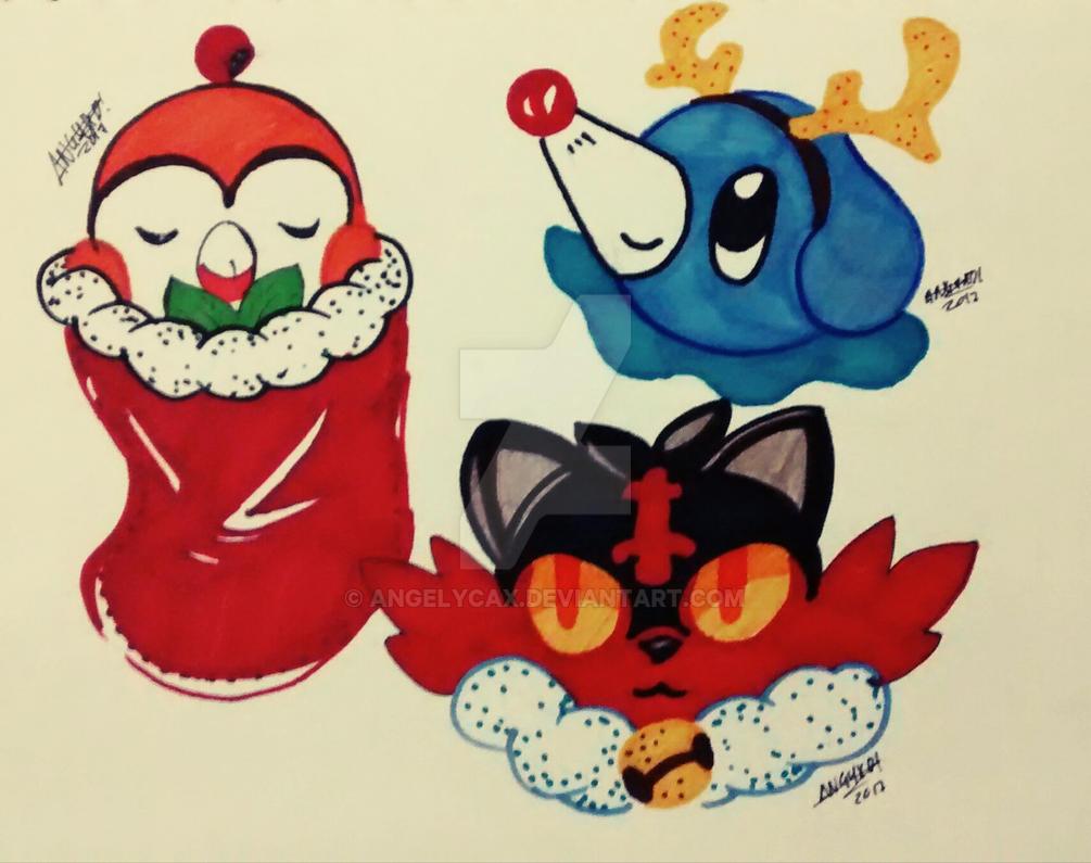 Pokemon babys navidad ANGYXD! by angelycax